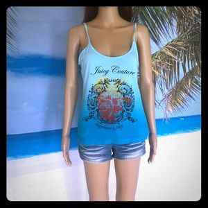 Juicy couture ombré tank top size medium